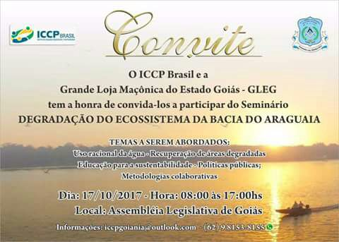 "BASE Escoteira no Seminário ""Degradação do Ecossistema da Bacia do Araguaia"""