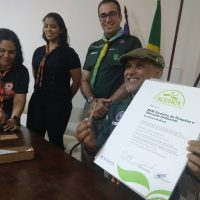 Assinatura e Entrega do Certificado SCENES
